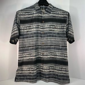 Tommy Bahama 100% Silk Button-Up Shirt Size XL